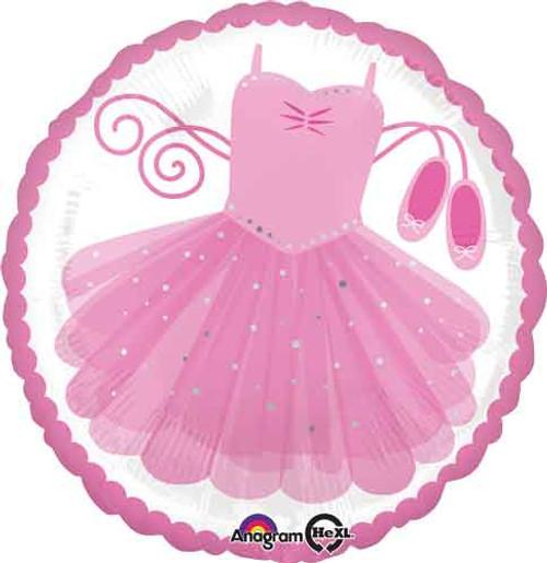 """17"""" Ballerina Tutu Balloon"""