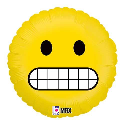 "18"" Emoji Grimace Foil Balloon"