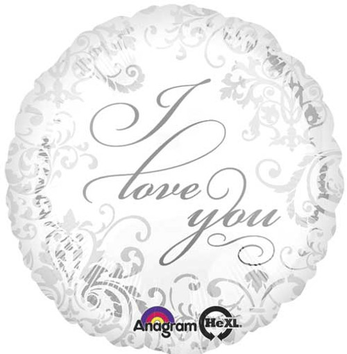 "17"" Elegant I Love You Balloon"