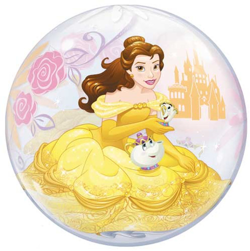 "22"" Disney Princess Belle Bubble Balloon"