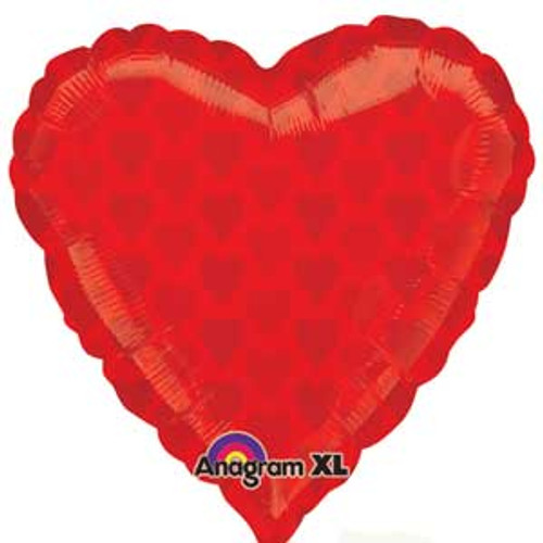 "18"" Red Hearts Love Balloon"