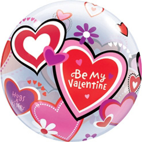 "22"" Valentine Message Bubble Balloon"