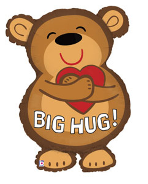 "28"" Big Hug Bear Super Shape Balloon"
