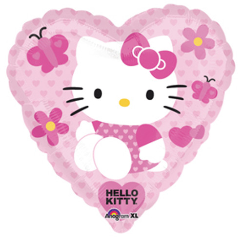 "18"" Hello Kitty Heart Shape Balloon"