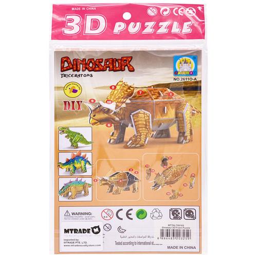 Dinosaur 3D Foam Puzzle