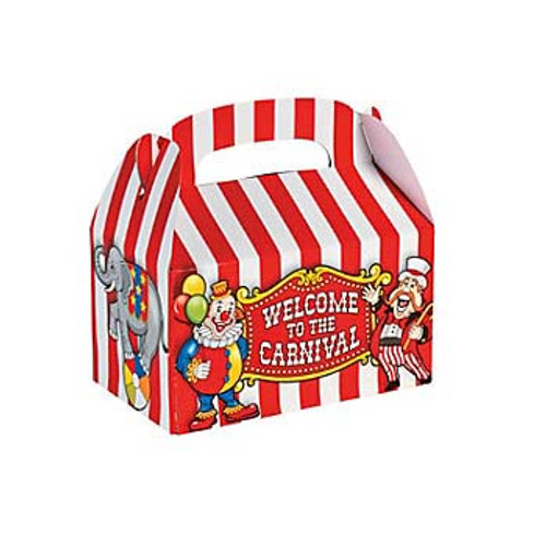 Big Top Favor Boxes