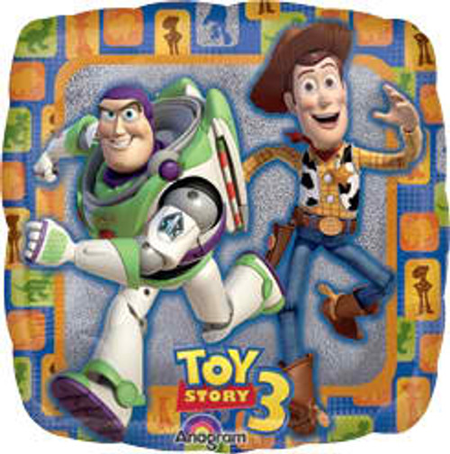 "18"" Toy Story Prismatic Square Balloon"