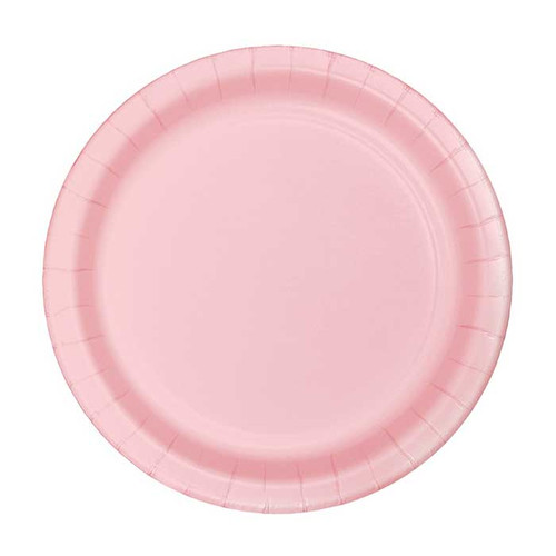 "Pink 7"" Dessert Plates"