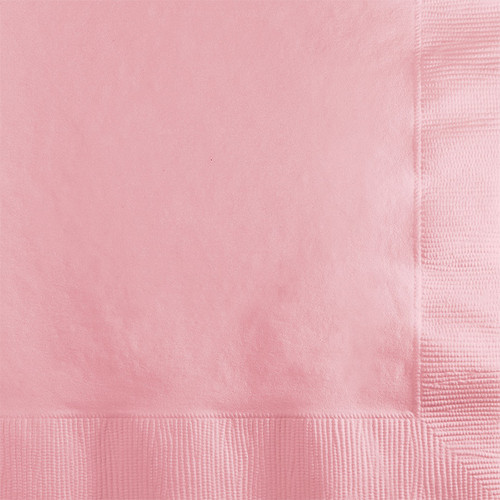 Pink 2-Ply Beverage Napkins