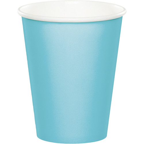 Light Blue 9 Oz Hot/Cold Cup