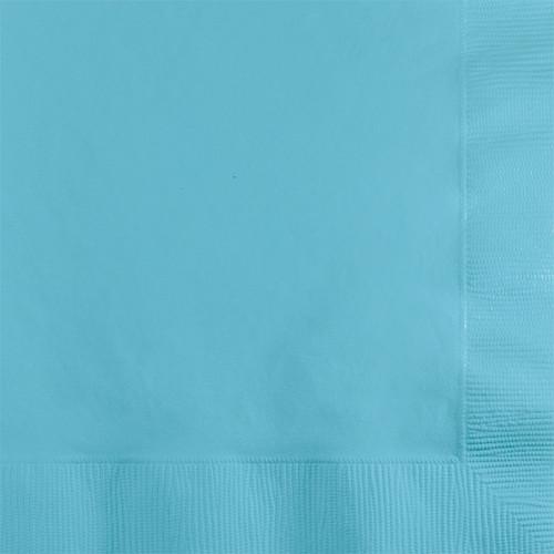 Light Blue 2-Ply Beverage Napkins