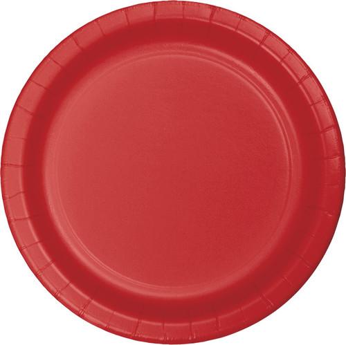 "Red 9"" Dinner Plates"