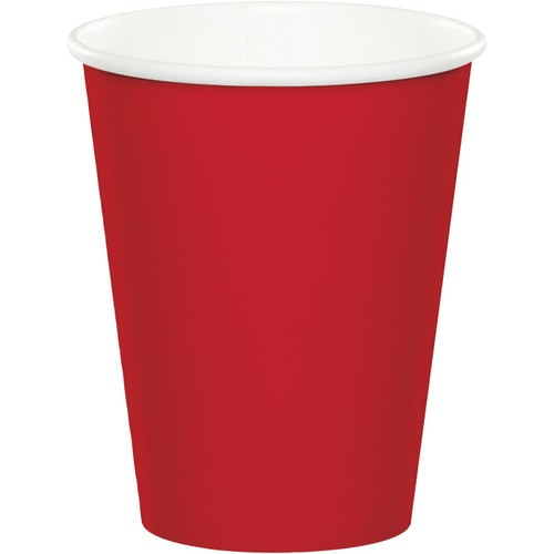 Red 9 Oz Hot/Cold Cup