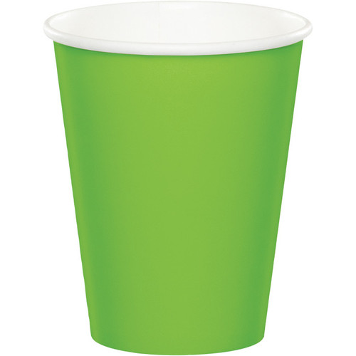 Lime Green 9 Oz Hot/Cold Cup
