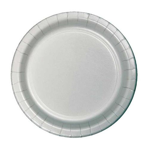 "Silver 7"" Dessert Plates"