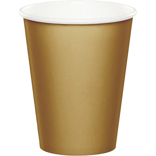 Gold 9 Oz Hot/Cold Cup