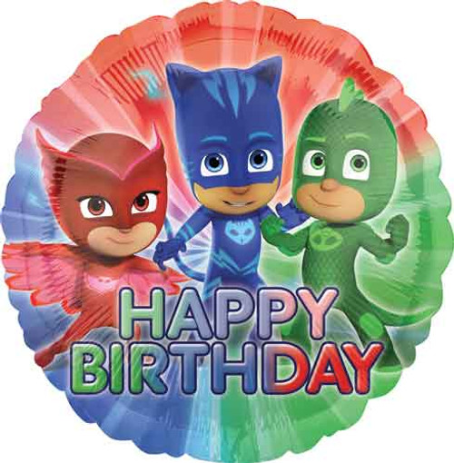 "17"" PJ Masks Birthday Balloon"