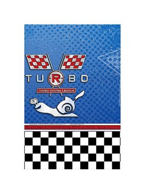 "Turbo Plastic Tablecover 54""x 96"""