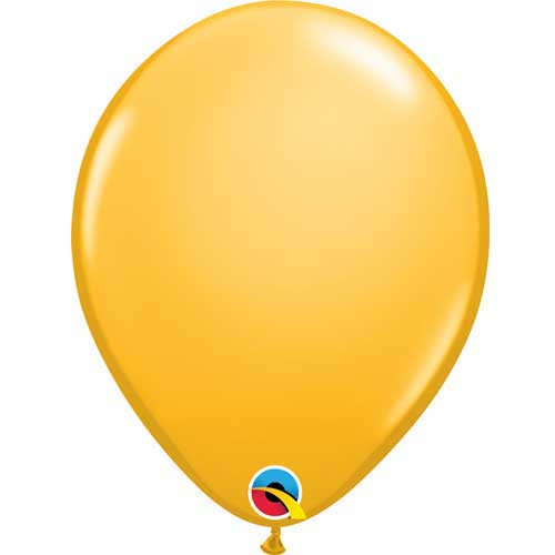 "Qualatex 11"" Standard Fashion Goldenrod Latex Balloon"