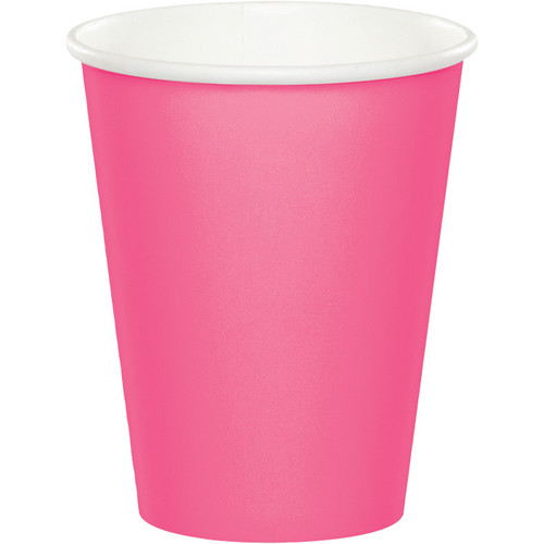 Candy Pink 9 Oz Hot/Cold Cup