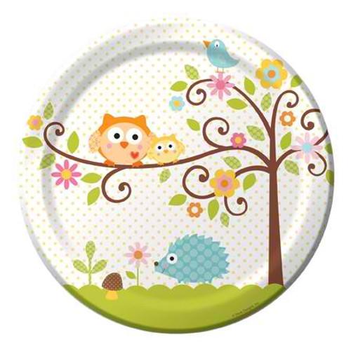 "Happi Tree 9"" Dinner Plates"