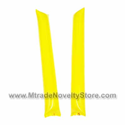 "23"" Inflatable Balloon Clapper Stick Yellow Color"
