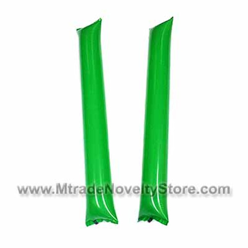 "23"" Inflatable Balloon Clapper Stick Green Color"