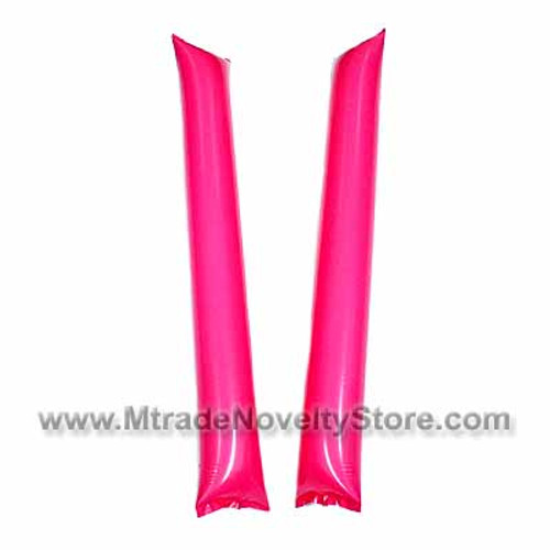 "23"" Inflatable Balloon Clapper Stick Pink Color"