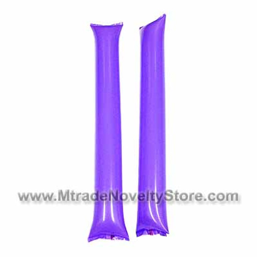 "23"" Inflatable Balloon Clapper Stick Purple Color"
