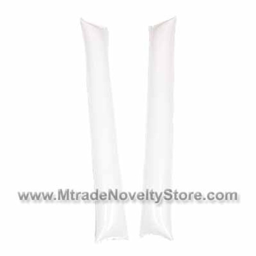 "23"" Inflatable Balloon Clapper Stick White Color"