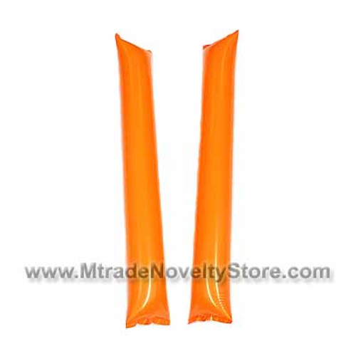 "23"" Inflatable Balloon Clapper Stick Orange Color"