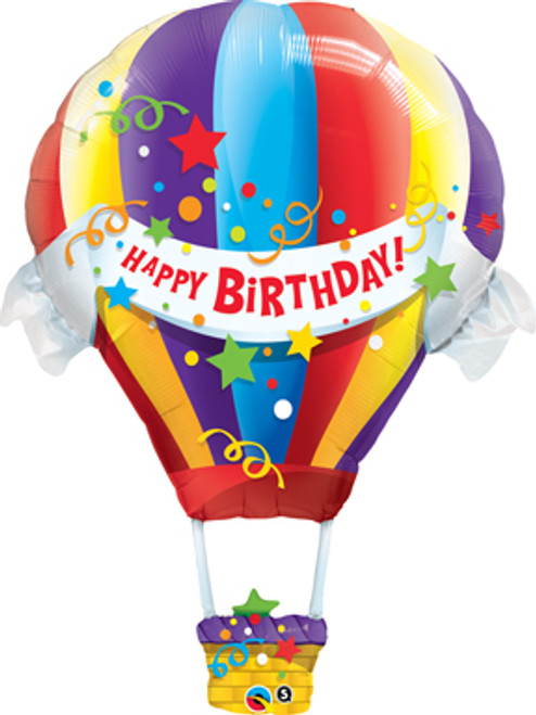 "42"" Birthday Hot Air Super Shape Balloon"