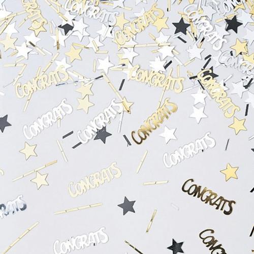 Congrats & Stars Shaped Confetti Pack