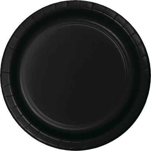 """Black 9"""" Dinner Plates"""