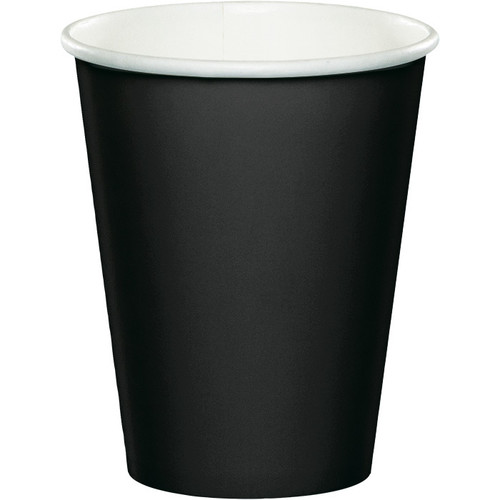 Black 9 Oz Hot/Cold Cup