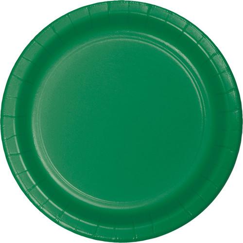 """Green 9"""" Dinner Plates"""