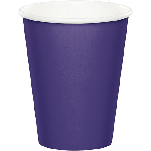 Purple 9 Oz Hot/Cold Cup