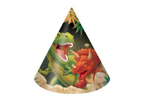 Dino Blast Child Party Hats