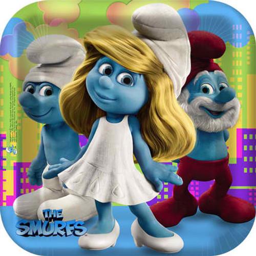 """Smurfs 9"""" Dinner Plates"""