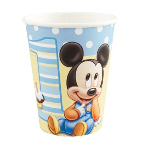 Mickey's 1st Birthday Paper Cups