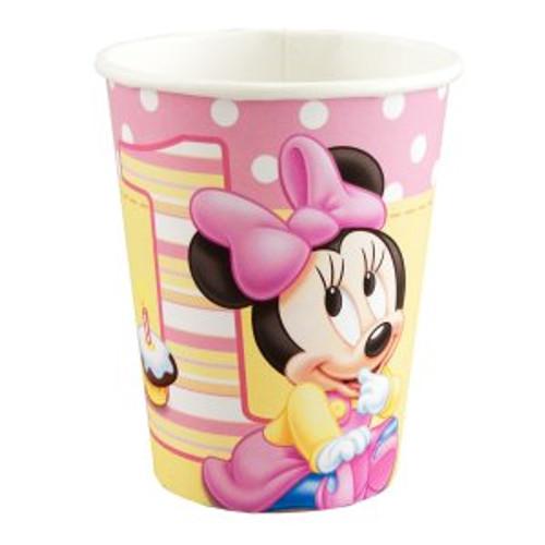 Minnie's 1st Birthday Paper Cups