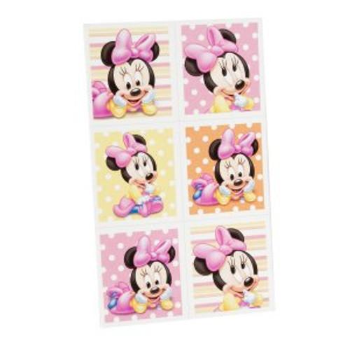 Minnie's 1st Birthday Sticker