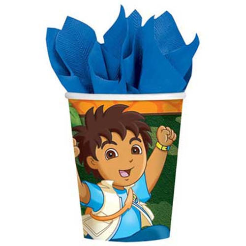 Go Diego Go Paper Cups
