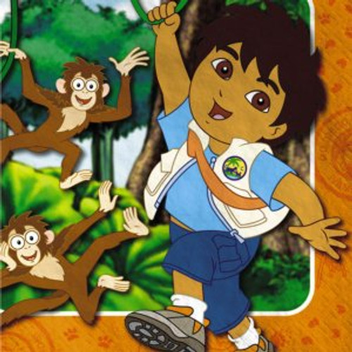 Go Diego Go Lunch Napkins