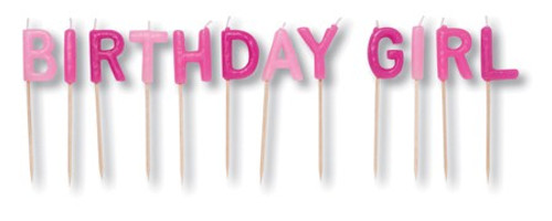 Birthday Girl Pick Candle Sets