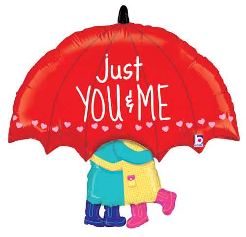 "33"" Just You & Me Super Shape Balloon"