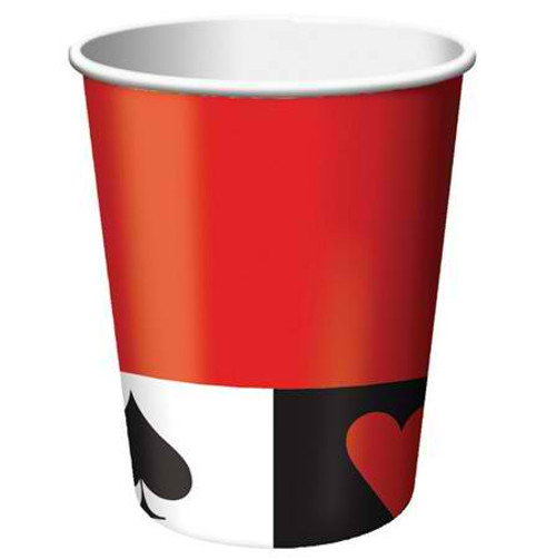 Card Night 9 Oz Hot/Cold Cup