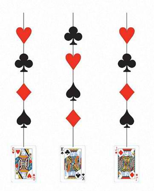Card Night Hanging Cutout