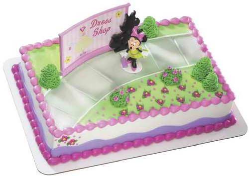 Minnie Shopper Cake Decoset