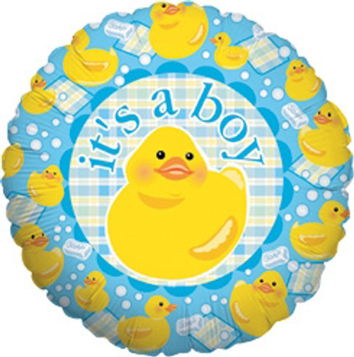 "18"" It's a Boy Ducky Balloon"